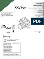 Handbuch FinePix S5Pro G