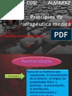 Principios de terapéutica medica