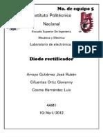 Practica 3 Electronica-diodo Rectificante
