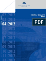 ECB April Monthly Bulletin 2012
