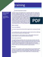 1.07 K Controls E-training - Solenoid Control of Pneumatic Actuators