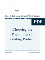 UK_CCNAX_Choose the Right Interior Routing Protocol