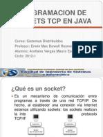 SD Programacion Sockets