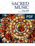 Sacred Music, 135.3, Fall 2008; The Journal of the Church Music Association of America