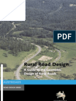 Rural Road Design
