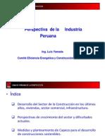 Perspectiva de La Industria Peruana.luis Yamada Tanaka