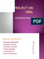 Project on Hrm Ppt