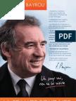 Profession de Foi de François Bayrou - Election Présidentielle 2012 - Premier Tour