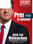 Profession de Foi de Jean Luc Melenchon - Election Présidentielle 2012 - Premier Tour