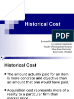 6 Historical Cost