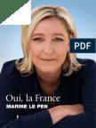 Profession de Foi de Marine Le Pen - Election Présidentielle 2012 - Premier Tour