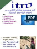 Presentation on Water