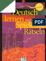 Deutsch lernen mit Spielen und Rästeln[1]