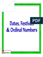Chart Ordinal Numbers