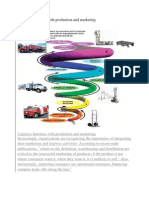 Logistics Interface With Production and Marketing