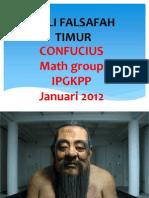FPK Pismp Sem 1 Pembentangan 2 AHLI FALSAFAH TIMUR