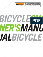 2010 Cannondale Bicycle Owners Manual 124451
