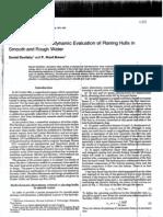Savitsky 1976 Hydrodynamic Evaluation of Planing Hulls