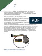 AVR Serial Port Programmer