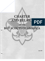 Charter and Bylaws of the Boy Scouts of America