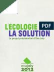 Programme Eva Joly - Election Présidentielle 2012