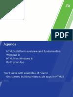 Win8 HTML5 Metro Style App