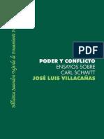 86552566 Jose Luis Villacanas Poder y Conflicto Ensayos Sobre Carl Schmitt