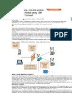 Enabling Secure, Remote Access to IBM Lotus iNotes Using IBM Lotus Mobile Connect