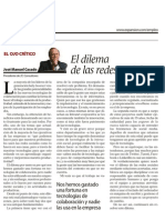 El Dilema de Las Redes Sociales - 6-4-2012-JMC