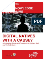 Report Digital Natives With a Cause