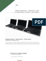 Toshiba Notebook PL Consumer