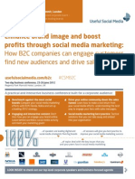 B2C SM Marketing Brochure