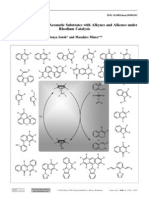 2010, Chem-euro Jouranl, 16, 11212, Miura, Oxidative Coupling, Rh