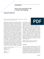 A Proposed Instrument for the Assessment of Job