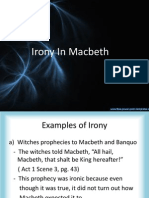 Irony in Macbeth