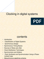 Clocking in Digital Systems