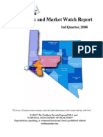 Northern Nevada Third Quarter 2008 Economic and Market Watch Report
