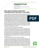 TD Chief Economist on Risks to Economy