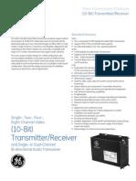 (10 Bit) TransmitterReceiver Audio