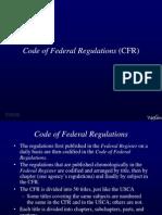 Administrative Law CFR