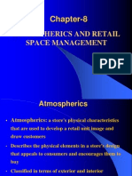 Chapter 8 Atmospherics and Retail Space-Retail Management