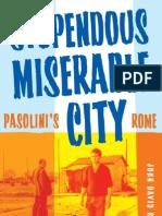 Stupendous, Miserable City- Pasolini's Rome 1