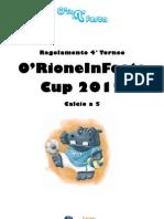 Regolamento Calcio 2012