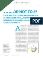 To BI or Not to BI (Jaime Miranda)