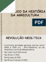 UM POUCO DA HISTÓRIA DA AGRICULTURA