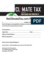 No Climate Tax