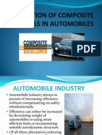 Application of Composite Materials in Automobiles