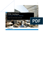 TPM Catalogue of Concepts, Theories and Methods
