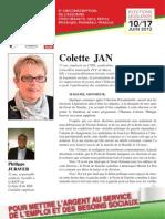 Expression Legislative Front de Gauche 6eme cir Essonne