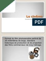 présentation cinéma